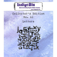 IndigoBlu - Collectors Edition 16, Letters, Leima