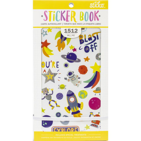 American Crafts - Sticko Sticker Book, Young & Fun, Tarrasetti