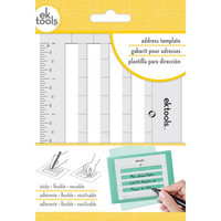 EK Tools - Sticky Envelope Address Template, Sapluuna