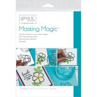 Gina K Designs - Masking Magic Sheets 5