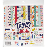 Carta Bella - Let's Travel, Collection Kit 12