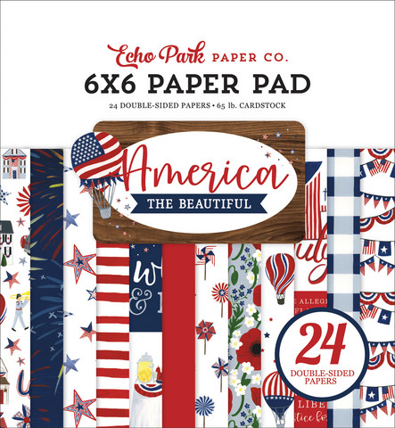 Echo Park - America the Beautiful Double-Sided Paper Pad 6