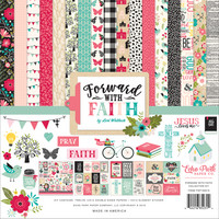 Echo Park - Forward With Faith Collection Kit 12