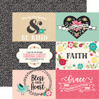Echo Park - Forward with Faith Double-Sided Cardstock 12