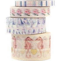 Prima Marketing - Golden Coast, Decorative tape, 3 rullaa