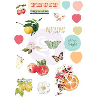 Prima Marketing - Fruit Paradise Puffy Stickers, 21 osaa