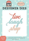 Carta Bella - En Vogue, Stanssisetti, Live Laugh Shop Word