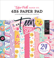 Echo Park - Teen Spirit Girl Double-Sided Paper Pad 6