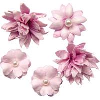 49 and Market - Flower Mini, Punch, Paperikukkasetti