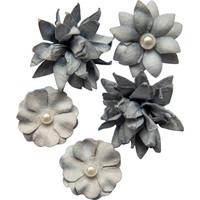 49 and Market - Flower Mini, Storm, Paperikukkasetti