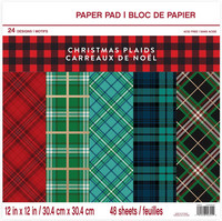 Craft Smith - Christmas Plaids, 12