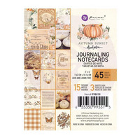 Prima Marketing - Autumn Sunset Journaling Notecards, 3