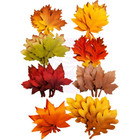 Prima Marketing - Autumn Sunset Mulberry Flowers, Autumn Leaves