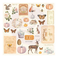 Prima Marketing - Autumn Sunset Cardstock Ephemera,36 osaa