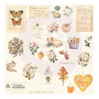 Prima Marketing - Autumn Sunset Cardstock Ephemera, 30 osaa
