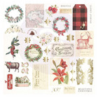 Prima Marketing - Christmas In The Country Cardstock Ephemera,34 osaa