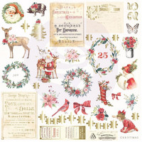 Prima Marketing - Christmas In The Country Cardstock Ephemera,42 osaa