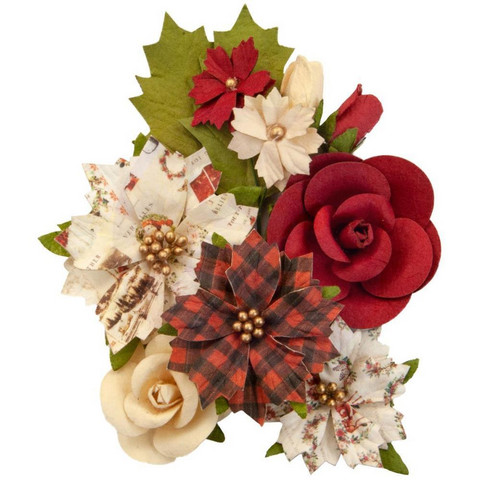 Prima Marketing - Christmas In The Country Mulberry Flowers, Christmas Song