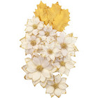 Prima Marketing - Christmas In The Country Mulberry Flowers, White Christmas