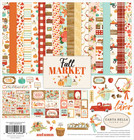 Carta Bella - Fall Market, Collection Kit 12