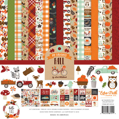 Echo Park - My Favorite Fall Collection Kit 12