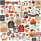 Echo Park - My Favorite Fall Element Sticker 12