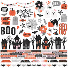 Simple Stories - Happy Haunting Combo Sticker 12