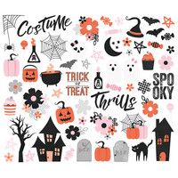 Simple Stories - Happy Haunting Bits & Pieces Die-Cuts, 64 osaa