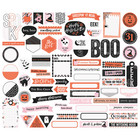 Simple Stories - Happy Haunting Journal Bits & Pieces Die-Cuts, 64 osaa