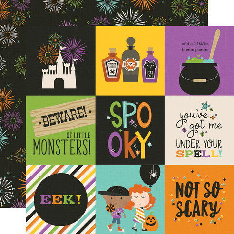 Simple Stories - Say Cheese Halloween Double-Sided Cardstock 12