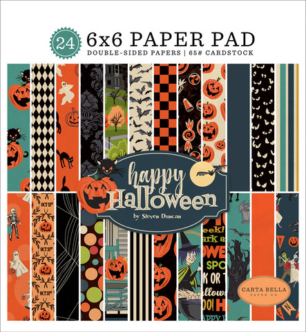 Carta Bella - Happy Halloween Double-Sided Paper Pad 6