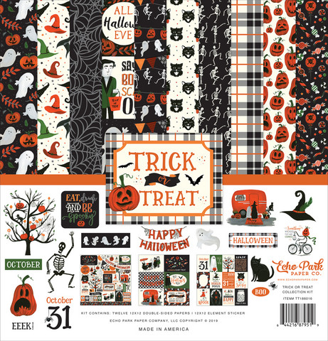 Echo Park - Trick or Treat Collection Kit 12
