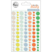 PinkFresh - A Case Of The Blahs Enamel Dots, 84 kpl