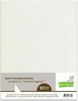 Lawn Fawn - Speckled Eggshell Cardstock 8,5