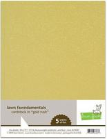 Lawn Fawn - Gold Rush Cardstock 8,5