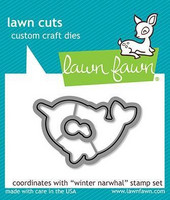 Lawn Fawn - Winter Narwhal, Stanssisetti