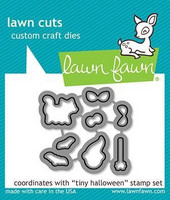 Lawn Fawn - Tiny Halloween, Stanssisetti