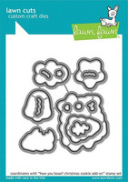 Lawn Fawn - How You Bean? Christmas Cookie Add-On, Stanssisetti