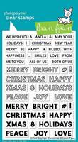 Lawn Fawn - Offset Sayings: Christmas Leimasetti