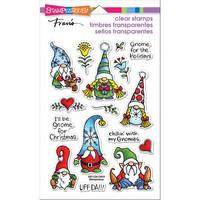 Stampendous - Holiday Gnomes, Leimasetti