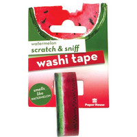 Paper House - Scratch & Sniff Washi Tape, Watermelon, Washiteippi