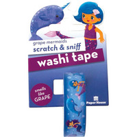 Paper House - Scratch & Sniff Washi Tape, Grape Mermaids, Washiteippi