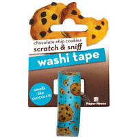 Paper House - Scratch & Sniff Washi Tape, Chocolate Chip Cookies, Washiteippi