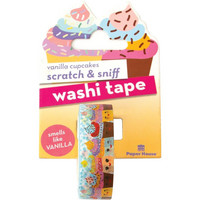 Paper House - Scratch & Sniff Washi Tape, Vanilla Cupcakes, Washiteippi