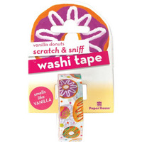 Paper House - Scratch & Sniff Washi Tape, Vanilla Donuts, Washiteippi