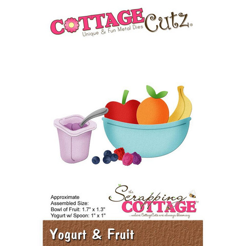 Cottage Cutz - Yogurt & Fruit, Stanssisetti