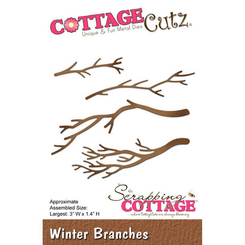 Cottage Cutz - Winter Branches, Stanssisetti