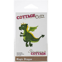 Cottage Cutz - Magic Dragon, Stanssisetti