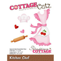 Cottage Cutz - Kitchen Chef, Stanssisetti