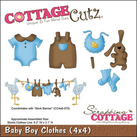 Cottage Cutz - Baby Boy Clothes, Stanssisetti